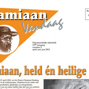 Contactblad Damiaan Vandaag digitaal