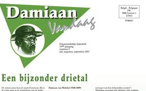 Lees zomernummer Damiaan Vandaag online!