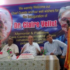 Gedenkteken voor Claire Vellut