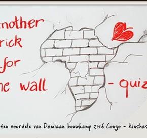 Quiz ten voordele van Bouwkamp Kinshasa Damiaanactie