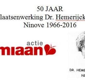 50 jaar melaatsenwerking Dokter Hemerijckxcomité Ninove 1966-2016