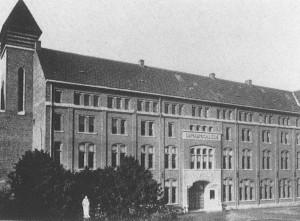 Het Damiaancollege in 1948