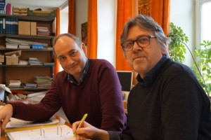 Bart Maessen (links) en Jan Bosschaert (rechts) - copyright Bart Maessen