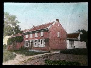 Geboortehuis ca. 1890 - copyright Damiaan Vandaag