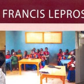 Voorzitter St Francis Leprosy Guild bezoekt Damiaan