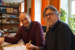 Bart Maessen (links) en Jan Bosschaert (rechts)
