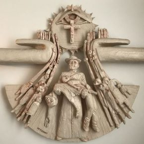 Damiaanbeeld May Claerhout