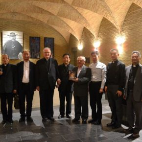 Chinese bisschoppen op bezoek