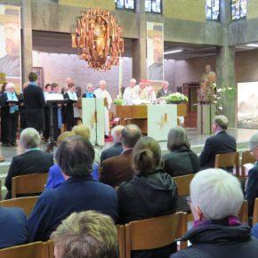 Feestelijke eucharistieviering Leuven zondag 13 oktober