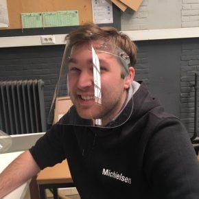 Damiaaninstituut Aarschot maakt gelaatsmaskers