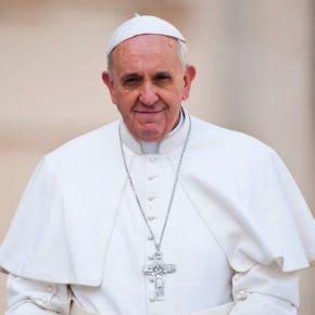 Damiaan en paus Franciscus