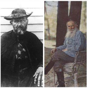 Damiaan en Leo Tolstoj