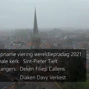 Viering Wereldlepradag Decanale Kerk in Tielt