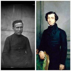 Damiaan en Alexis de Tocqueville